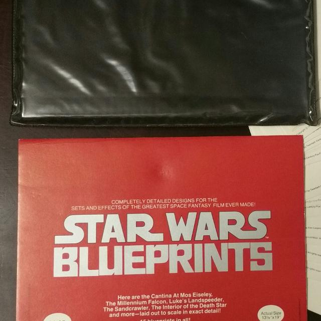 Best 50 Year Old Star Wars Blueprints - 15 Pages for sale in Panama ...