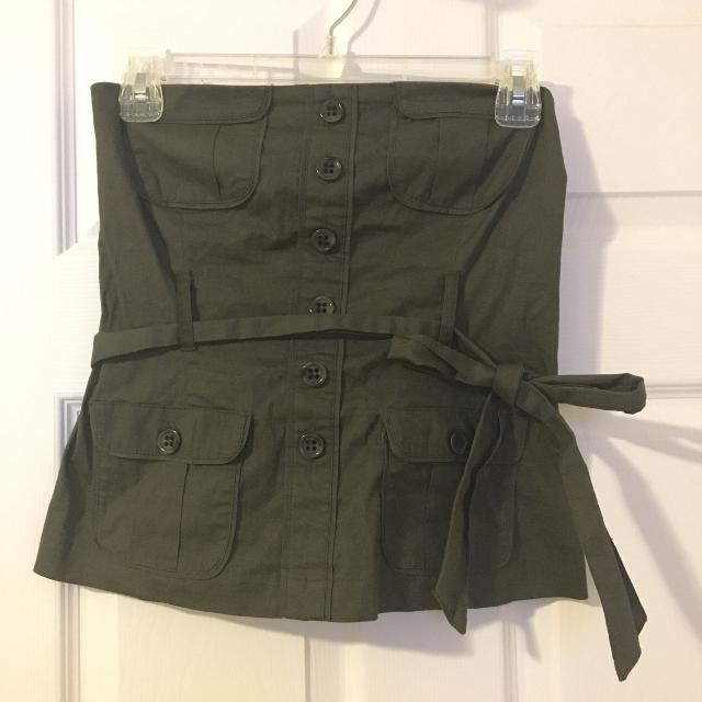 0e7550433a0b9 Find more Army Green Tube Top for sale at up to 90% off