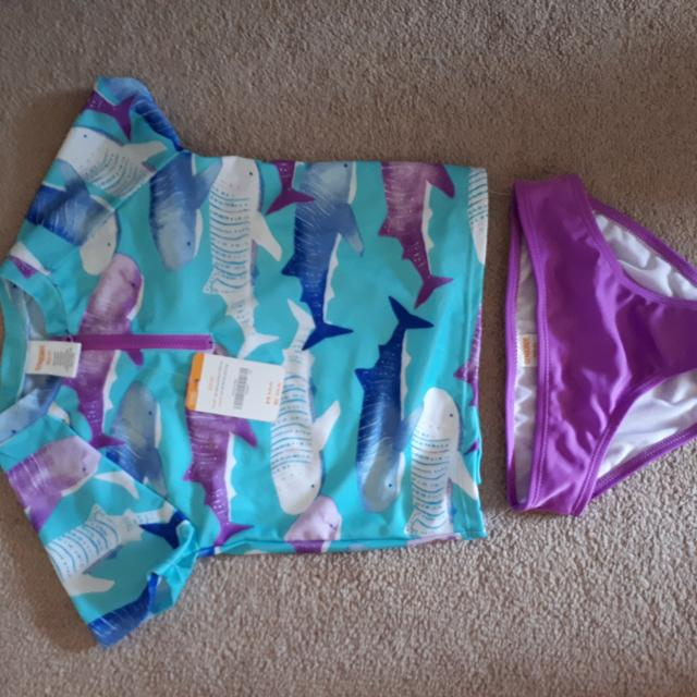 ee264b9392 Find more Gymboree Girls Bathing Suit. Uv 50+. Bnwt Hygenic Liner ...