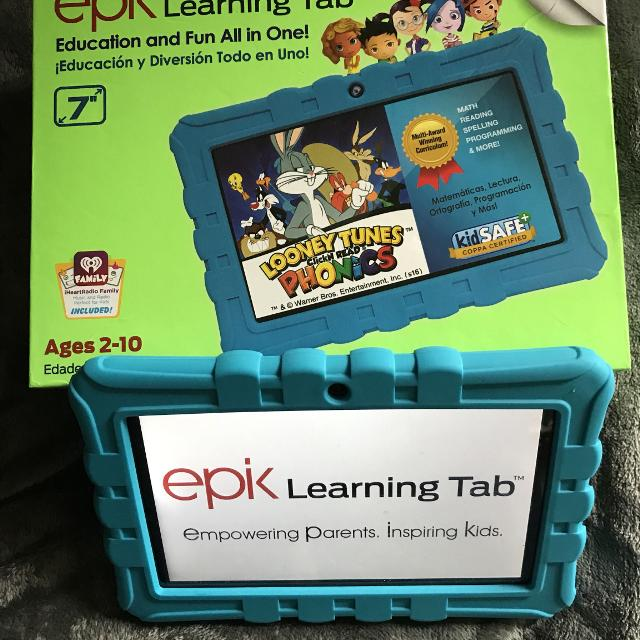 Epik Learning Tablet PRICE DROP TODAY ONLY