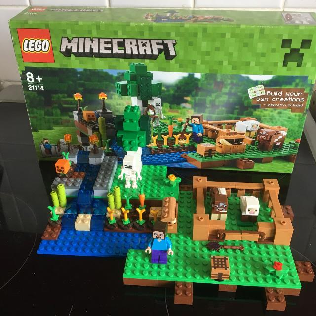 Find More Minecraft The Farm Lego Complete Except The Bow Is