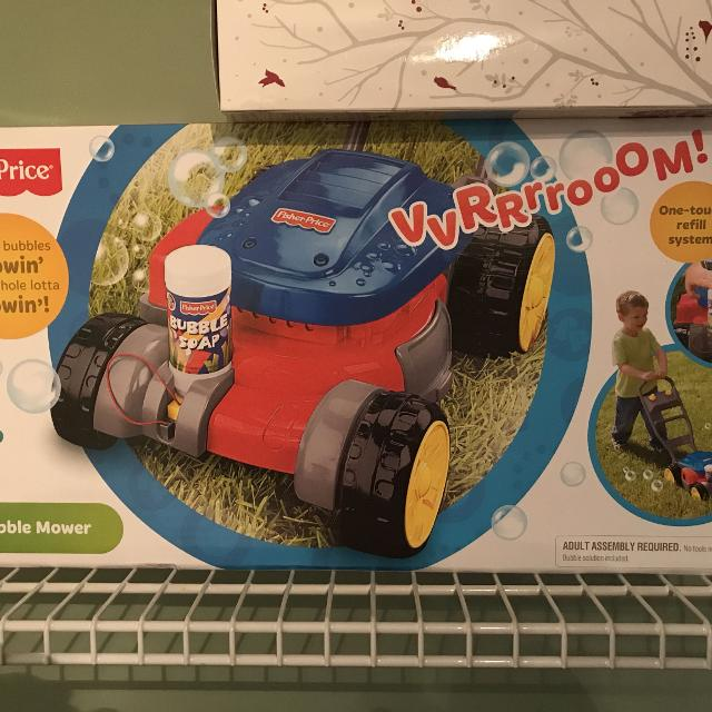Find More Fisher Price Lawn Mower Bubble Mower For Sale At Up To 90 Off