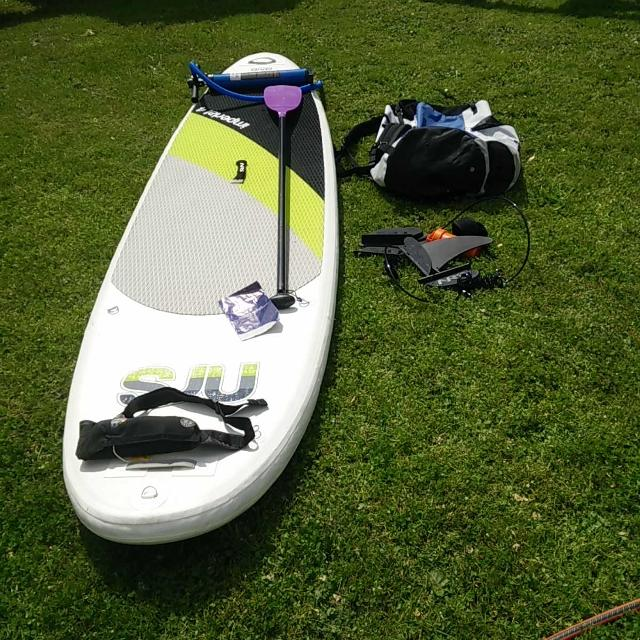 NRS inflatable stand-up paddle board