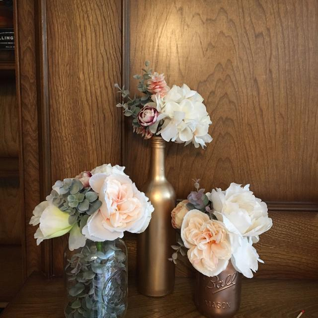 Find more Silk Flower Wedding Centerpieces - Set Of 15 for sale at ...