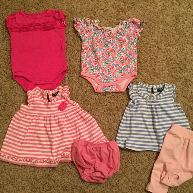 5f20558b6a25 Best 4 Newborn Outfits Baby Girl - 3 American Living   1 Okie Dokie - Great  Condition for sale in Brazoria County