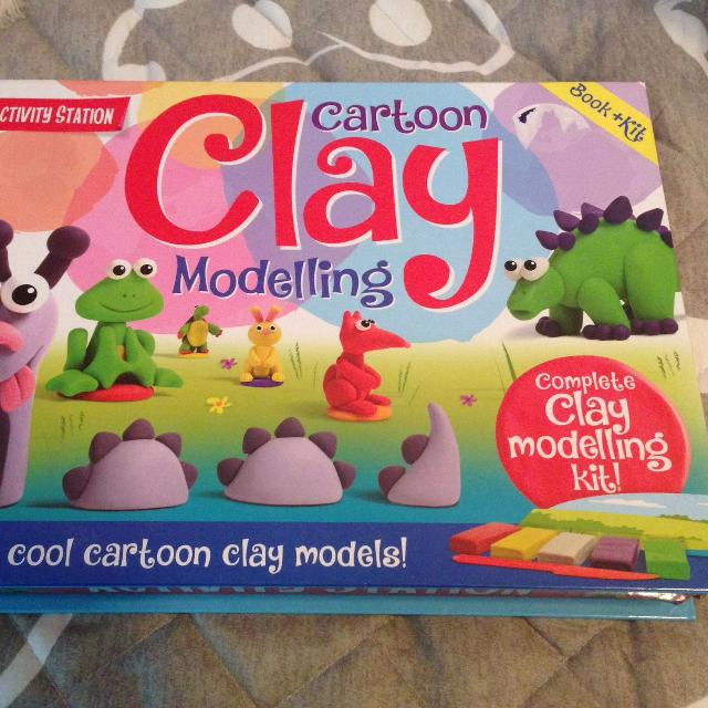 best like new cartoon clay modeling for sale in victoria british