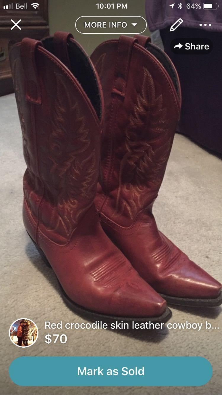 9e3adaae6f8 Ariat Laredo cowgirl boots from Lammlies, size 8.5