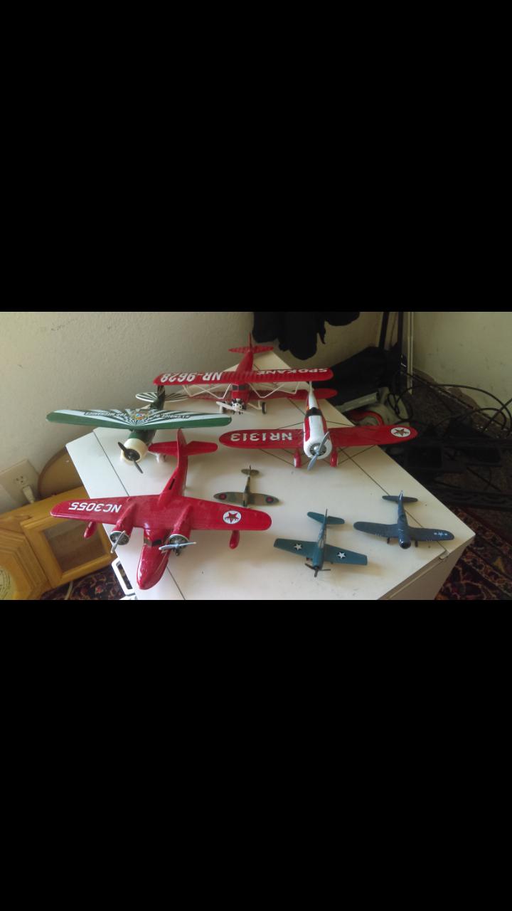 Model diecast aircraft