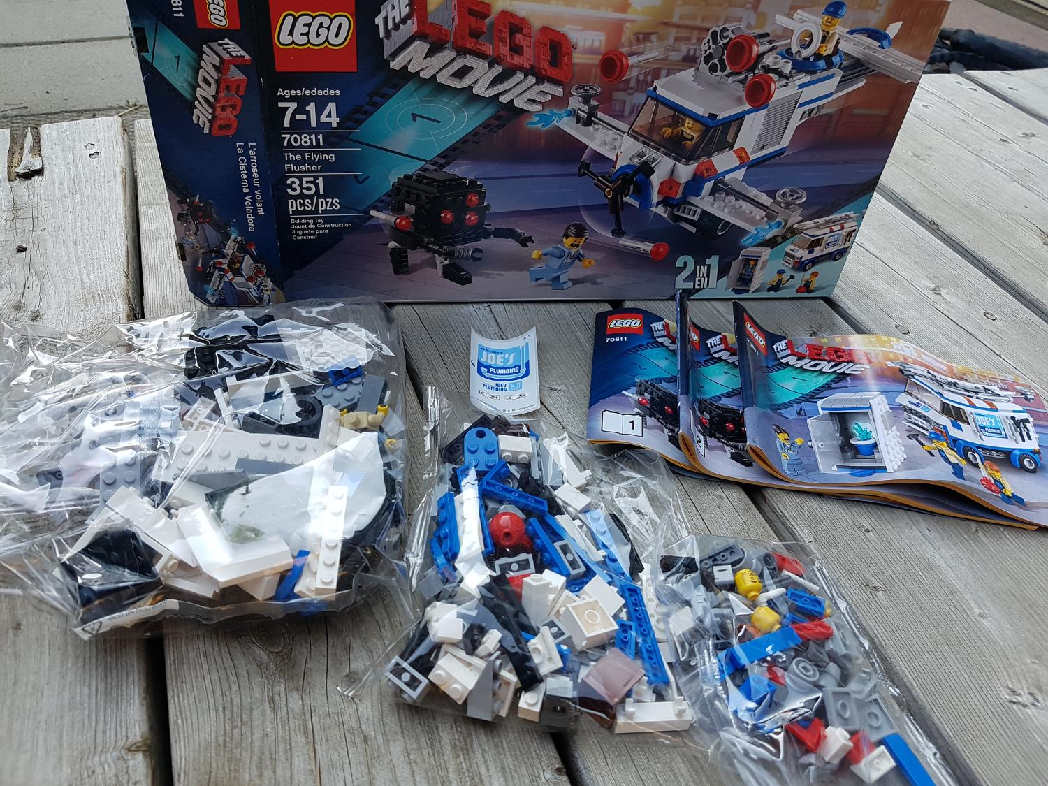 Find More New The Lego Movie Retited Set The Flying Flusher For Sale At Up To 90 Off
