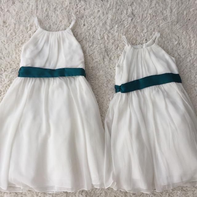 9ed1f549908 Best David s Bridal Flower Girl Dresses 4 And 6 for sale in Peoria ...