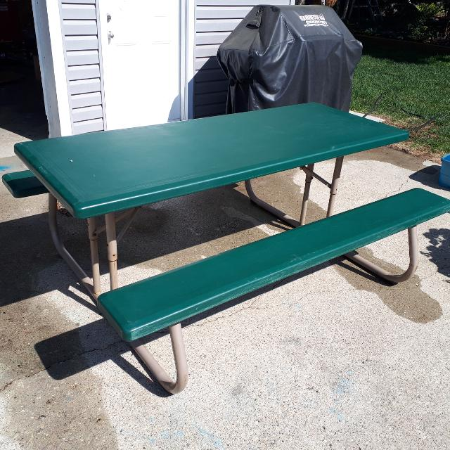 Best Folding Picnic Table For Sale In Sherwood Park