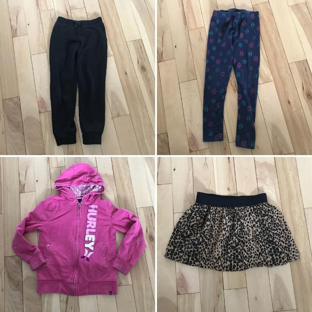 d302c853d8eed Find more Sweater Hurley Leggings Sweats Skirt Size 6/7 Lot for sale ...