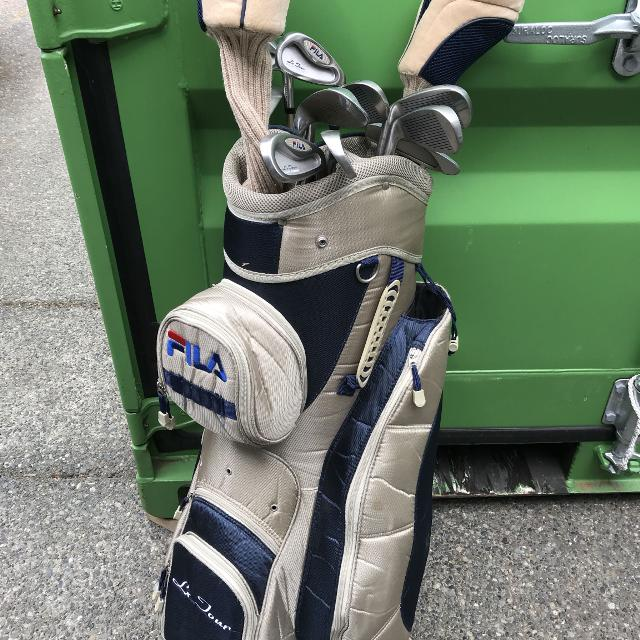 1c41346b3651 Find more Complete Set Of Ladies Fila Golf Clubs for sale at up to ...