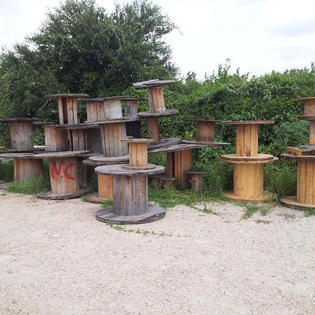 Wooden Spools And Pallets