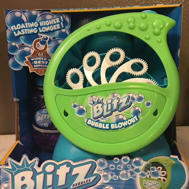 Find More Nwt Blitz Bubble Blowout Machine For Sale At Up To 90 Off