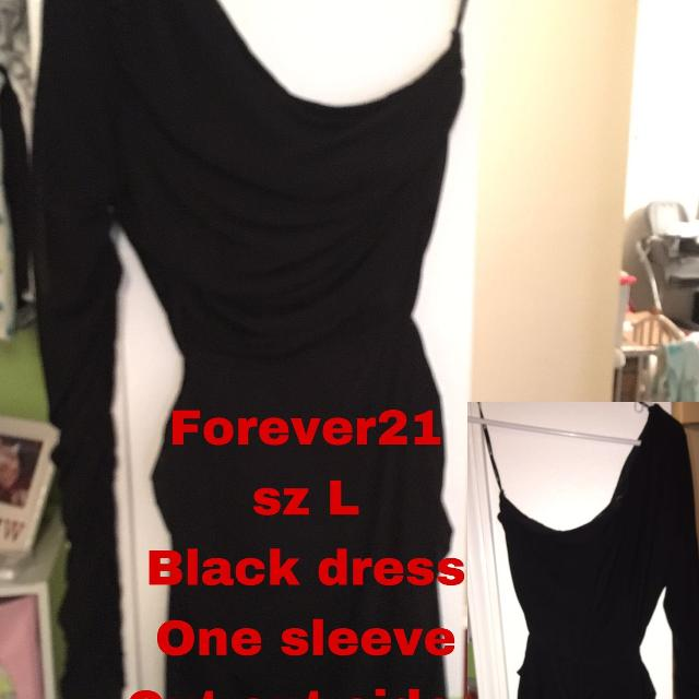 a8226c72b159 Best Black One Sleeve Waist Cut Out Semi Formal Dress for sale in  Pensacola
