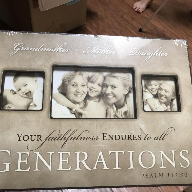 Find more Three Generations Picture Frame Easel Or Hanging ...
