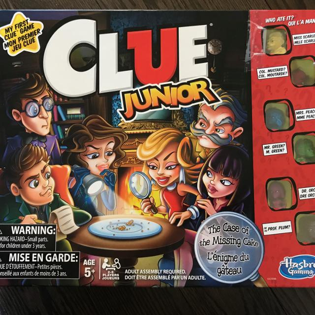 Best Clue Jr Family And Kids Game For Sale In Stouffville Ontario