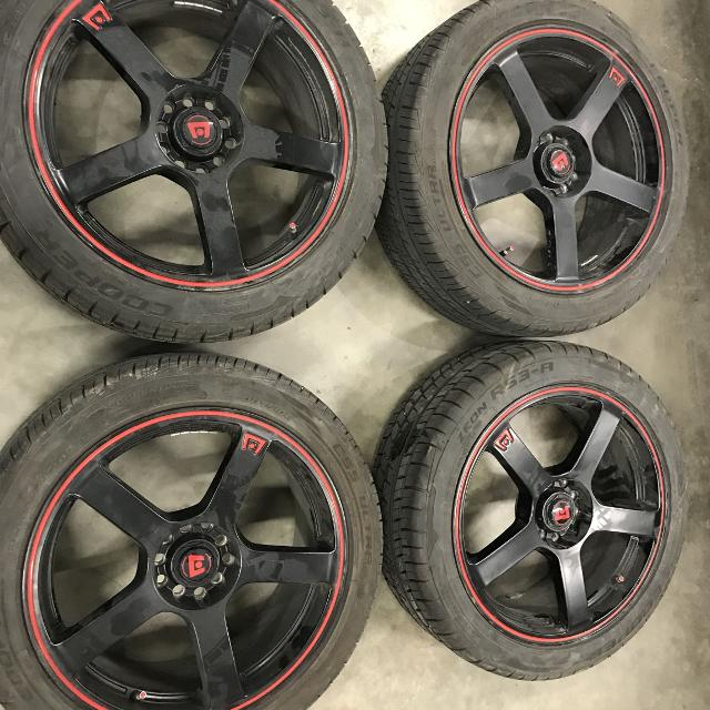 """Find More 18"""" Rims With All Season Tires And Matching"""
