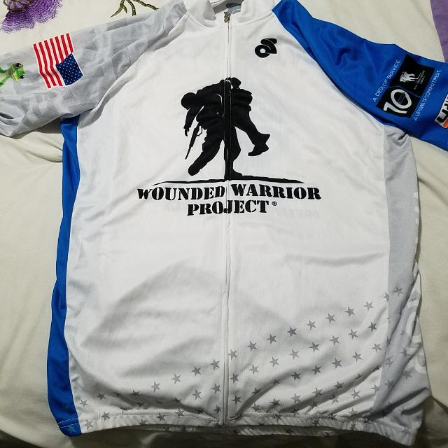 Best Wounded Warrior Project Cycling Jersey for sale in Jefferson City 45909ff9a