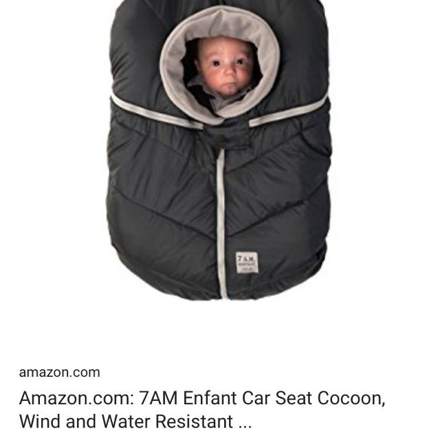 7d3b4483c Find more 7am Car Seat Cocoon for sale at up to 90% off