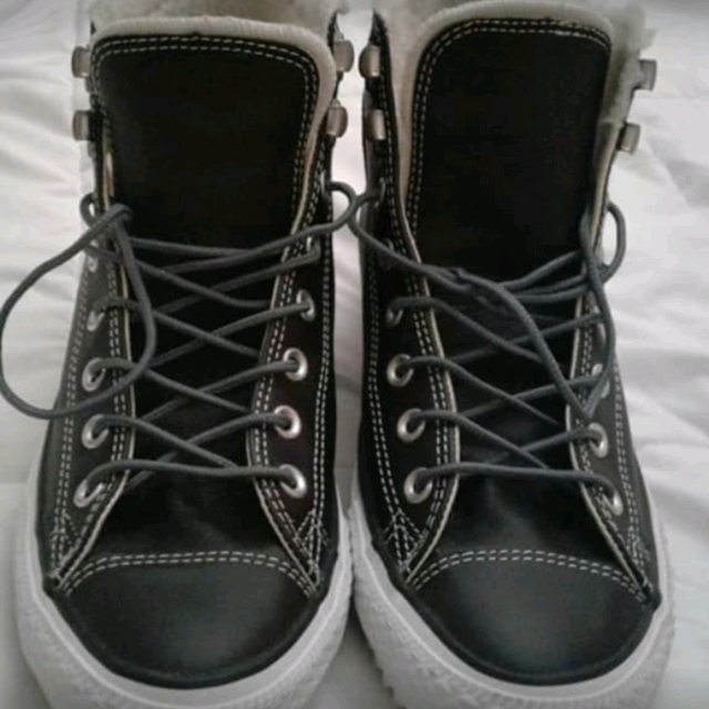 dd0d372c9f61 Find more Converse All Stars (chuck Taylor s) Black Leather High Top ...