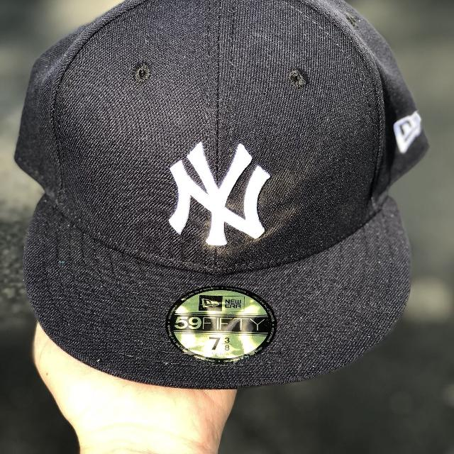 466ec221 New York Yankees Fitted Hat-$25