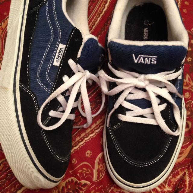 6b0b7672945141 Best Boys Vans Blue Suede Shoes Size 3 In New Condition. Only Worn Around  The House Never Outside.  20 for sale in Chalmette