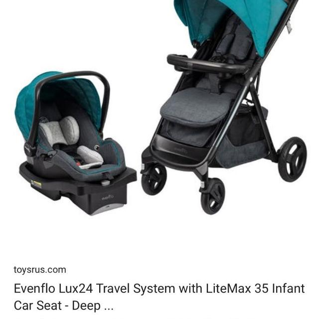 Evenflo Car Seat And Stroller Travel System