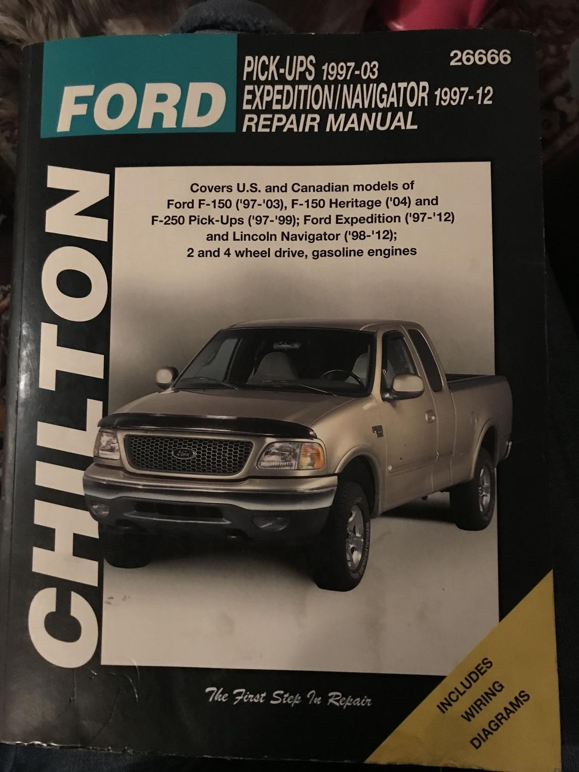 Best Ford Pick Up Truck Repair Manual 1997-2012 $1 for sale in Memphis,  Tennessee for 2019