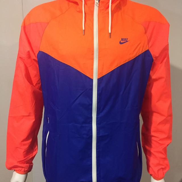 Best Nike Windbreaker Track Jacket Vintage Retro Blue 1c9552e8d