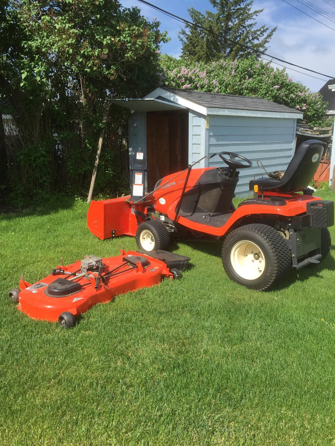 Best Kubota Lawn Tractor For Sale For Sale In Winkler Manitoba For 2020