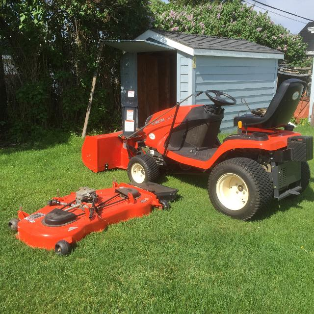 Kubota Lawn Tractor >> Kubota Lawn Tractor For Sale