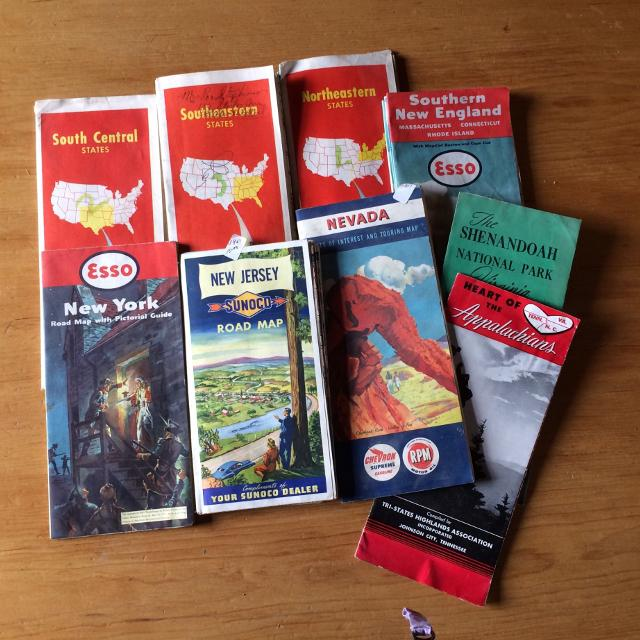 Best Vintage Road Maps Of Usa Travel Guides For Sale In - Vintage road maps for sale