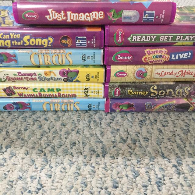 Best Barney Vhs Movies For Sale In Sarnia, Ontario For 2019