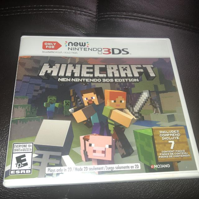 Best Like New Minecraft For The New Nintendo 3ds For Sale In Braun