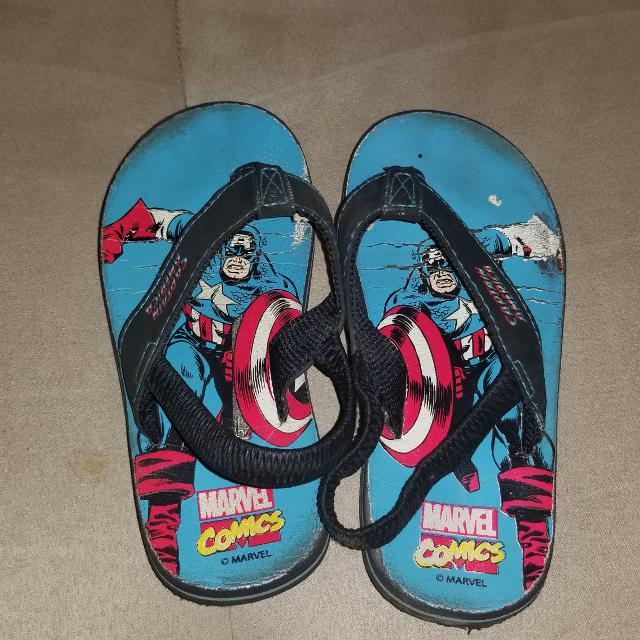 0749f8923043 Best Captain America Flip Flops - Size 9-10 for sale in Ladner ...