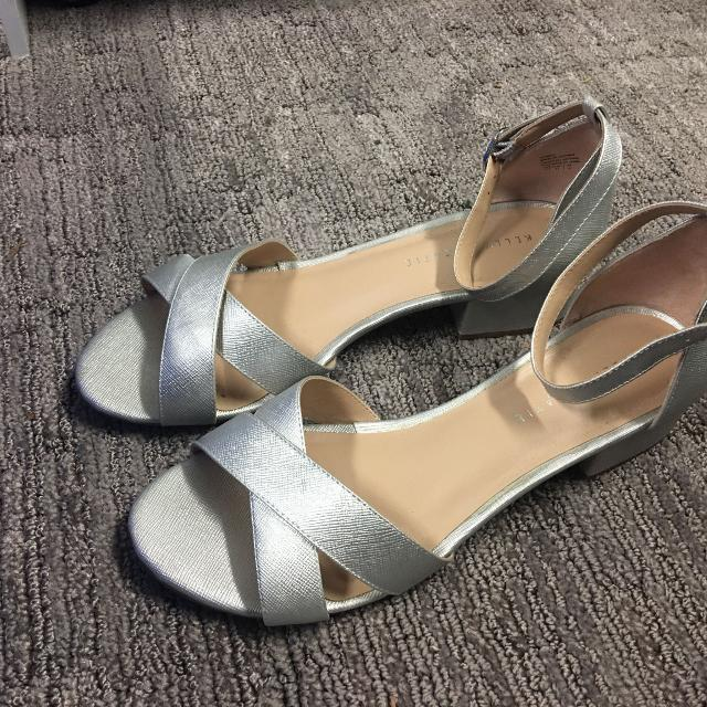 267ed6ef81ff Best Kelly   Katie Silver Sandals for sale in Victoria