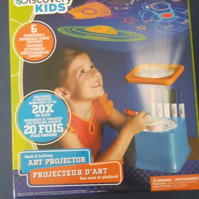 find more discovery kids art projector bnip for sale at up to 90 off