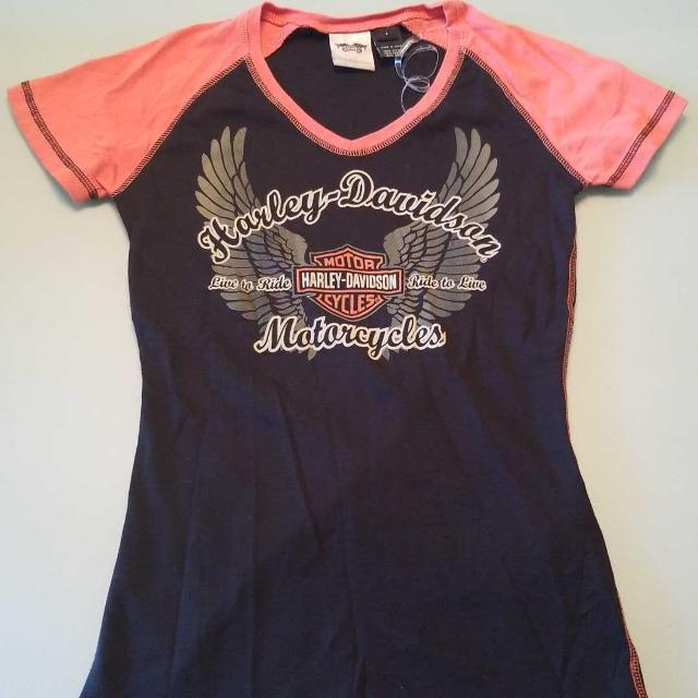 Best Womens New Harley Davidson T Shirt For Sale In Gardner Kansas