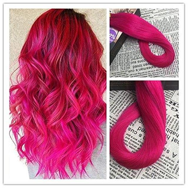 Best Beautiful Bright Pink Hair Extensions For Sale In Winkler