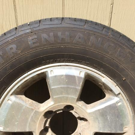 Toyota 4Runner Rims and Tires - $500 for sale  Canada