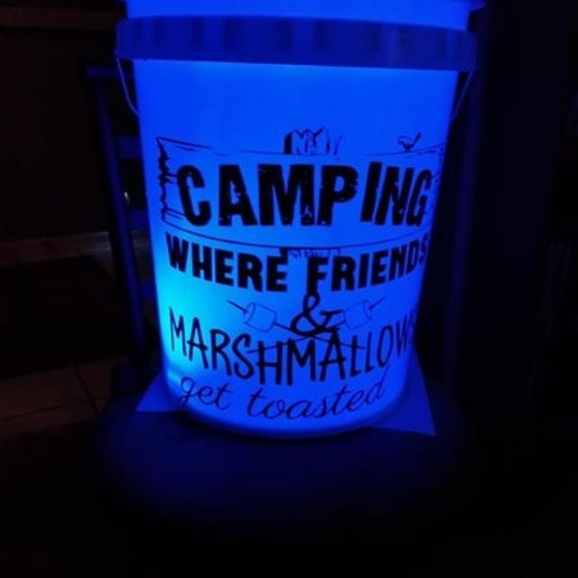 Best Camping Bucket With Multi Color Light For In Pensacola Florida 2019