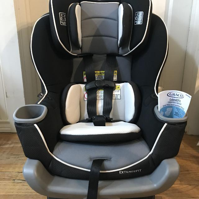 Graco Extend 2 Fit Convertible Carseat Infant Toddler