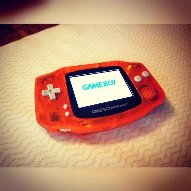 Gameboy Advance, Backlit Mod