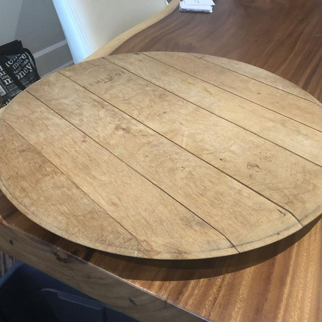 Best Wine Barrel Lid Lazy Susan For Sale In Yorkville Ontario For 2019
