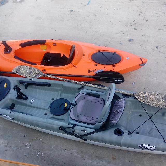 Find More 1 Sit On Top Fishing Kayak And 1 Sit Inside Kayak For