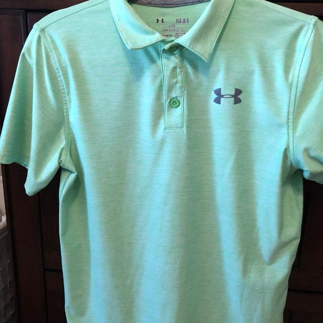 ad36630c Find more Under Armor Boys Large Golf Shirt for sale at up to 90% off