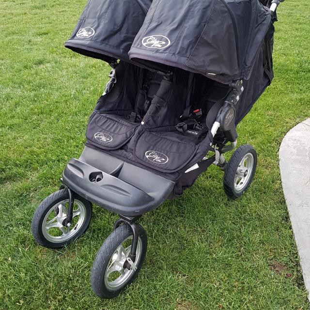 City Elite Baby Jogger Double Stroller