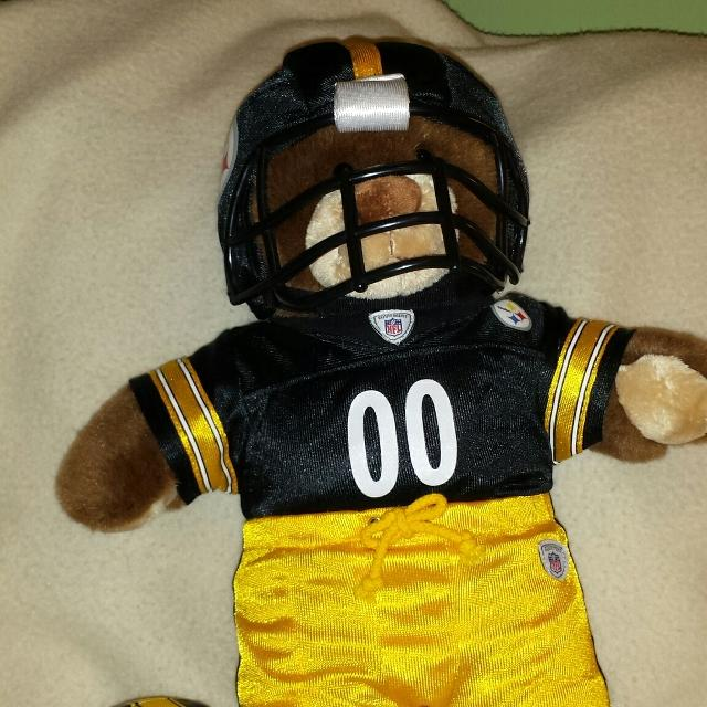 26ae1749301 Find more Build A Bear In A Whole Steelers Outfit With Football. for ...